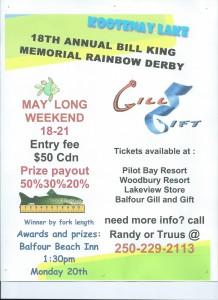 Memorial Week-end Fishing Derby